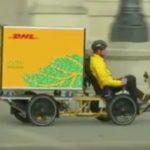 電動アシスト自転車にソーラーパネル,DHLが採用~ソーラー発電~車~