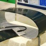 2017年10月「アグロイノベーション」(東京ビッグサイト)でソーラーパネルを展示