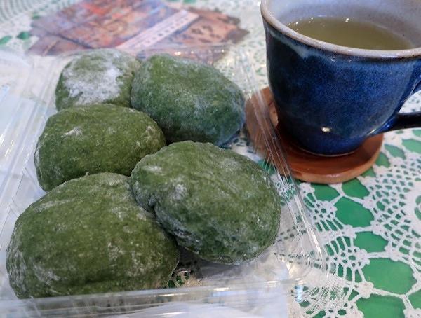 「パンと和菓子、お茶の味がレベルアップしました」